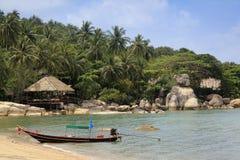 KOH Tao-Strandurlaubsort Thailand Lizenzfreies Stockfoto