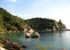 KOH Tao, Tailandia, bahía del Ao Leuk Imagen de archivo libre de regalías