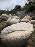 KOH tao Tailandia de las formaciones de roca Fotos de archivo libres de regalías