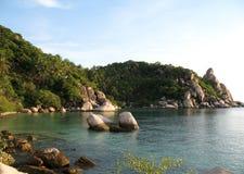 KOH Tao, Thaïlande, compartiment d'ao Leuk Image libre de droits