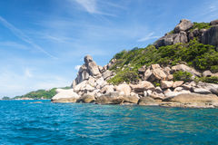 Koh Tao in Thailand Stock Images