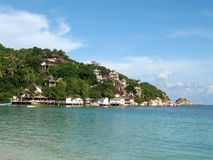 Koh Tao, Thailand, haaipunt Royalty-vrije Stock Foto's