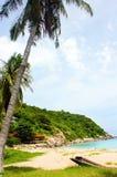Koh Tao Thailand van het strand Royalty-vrije Stock Afbeeldingen