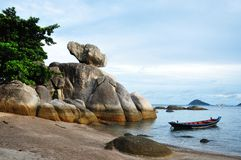 Koh Tao wyspa, Tajlandia Zdjęcia Royalty Free