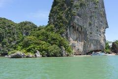 Koh Tapoo w Phang Nga zatoce, Tajlandia zdjęcie royalty free