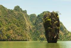 Koh Tapu (James Bond wyspa) Zdjęcia Stock