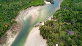 Koh Tarutao island aerial Royalty Free Stock Images