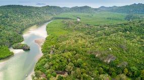 Koh Tarutao island aerial Royalty Free Stock Image