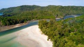 Koh Tarutao island beach Royalty Free Stock Image