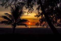 Koh Tarutao Island, Thailand, Sonnenuntergangstrand lizenzfreies stockfoto