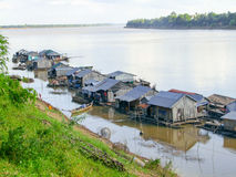 Koh Trong в Камбодже стоковое фото