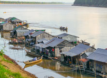 Koh Trong in Cambodia Stock Image