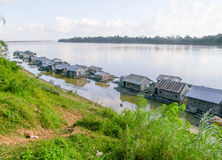 Koh Trong in Cambodia Stock Photography