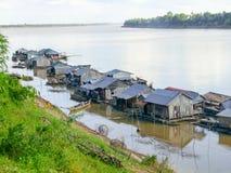 Koh Trong i Cambodja arkivfoto