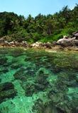 KOH tropical Tao, Tailandia de la isla Fotografía de archivo
