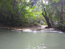 Koh van Watterfallthailand samui stock afbeeldingen