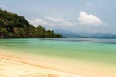 Koh Wai Beach. Beach on Koh Wai tropical island, Thailand Stock Photography