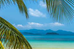 Koh Wai. A sight from Koh Wai island in Thailand Royalty Free Stock Photo