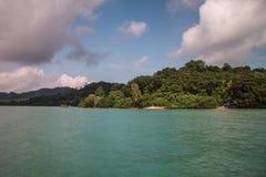 Koh yao noi island and sea Stock Image