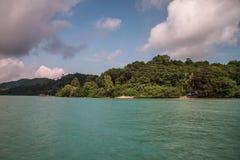 Koh yao noi island sea and blue sky Royalty Free Stock Photography