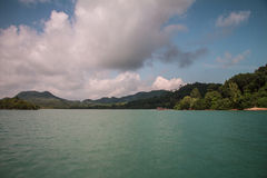 Koh yao noi island sea and blue sky Stock Images