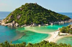koh zadziwiający nang nguan Thailand Zdjęcie Stock