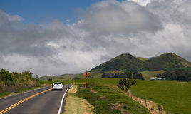 Kohala Mountain Road Royalty Free Stock Photos
