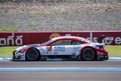 Kohei Hirate of LEXUS TEAM SARD in Super GT Final Race Warm Up L Royalty Free Stock Image