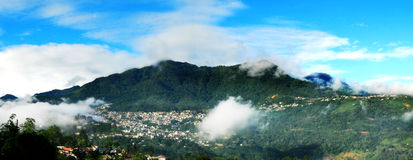 Kohima. The capital of Nagaland located in the far north east region of India royalty free stock image
