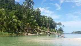 Kohkood ö på Trad, Thailand Arkivfoton