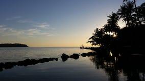 Kohkood ö på Trad, Thailand Arkivfoto