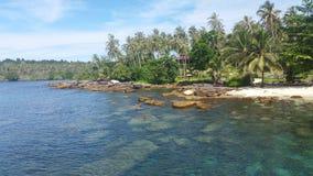 Kohkood island at Trad ,thailand Royalty Free Stock Image