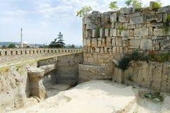 Kohl-Festung - Skopje - Mazedonien stockfotos