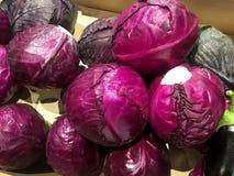 kohl gemüse Fragment von einem Obst- und Gemüse Shop Stockfotos