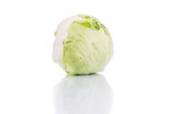 Kohl lokalisiert auf weißem Hintergrund Stockfotografie