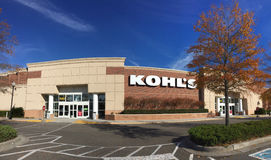 Kohl`s department store Royalty Free Stock Photos