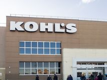 Kohl`s exterior royalty free stock photo