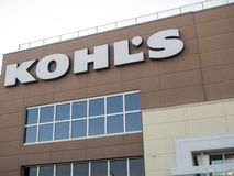 Kohl`s exterior royalty free stock image