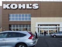 Kohl`s exterior stock image