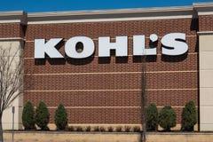 Kohl sklep lokalizowa? przy Hamilton rynkiem obrazy royalty free