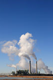 Kohle abgefeuerte Leistunganlage stockfotografie