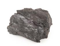 Kohle auf einem Weiß stockbild