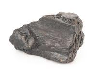 Kohle auf einem Weiß stockfotos