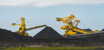 Kohle, die Ausrüstung sortiert stockbilder