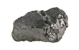 Kohle lokalisiert auf Weiß lizenzfreie stockfotos