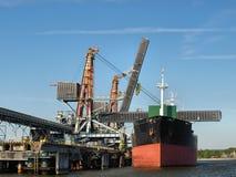 Kohle-Pier lizenzfreies stockfoto
