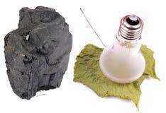 Kohle und Energie stockfotografie