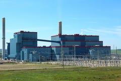 Kohleenergieanlage Lizenzfreie Stockfotos