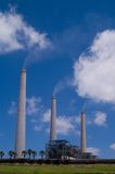 Kohleenergiestation Stockfotos