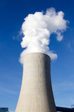 Kohleenergiestation Lizenzfreies Stockfoto